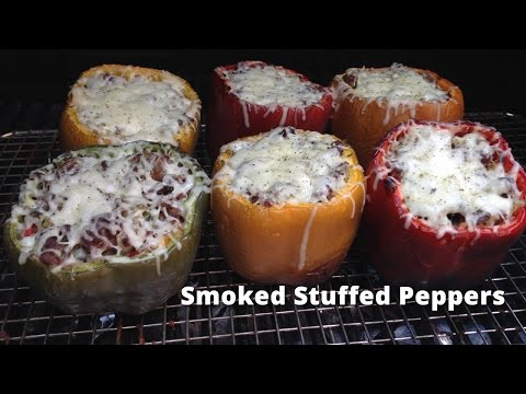 Smoked Stuffed Peppers Recipe | Stuffed Peppers On The Grill Malcom Red HowToBBQRight