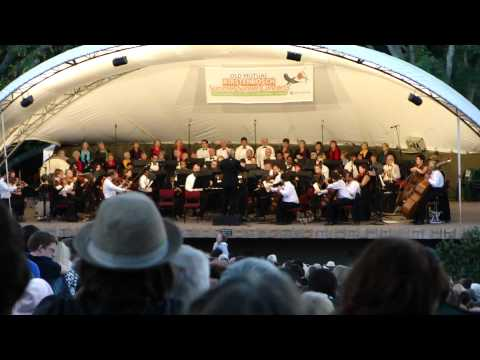 Last summer concert at Kirstenbosch : Cape Town Philharmonic