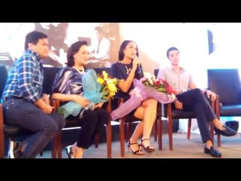 'Nathaniel' Cast-Ogie Diaz, Isabelle daza, David Chua & Coney Reyes
