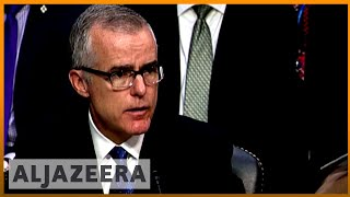 Reports: McCabe gave memos on Trump interactions to Mueller - ALJAZEERAENGLISH