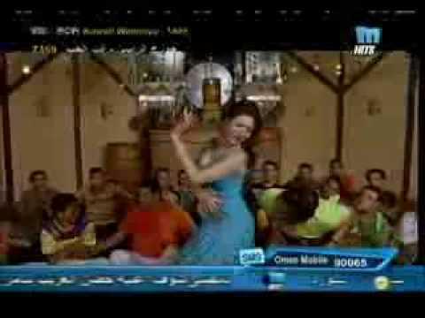 DINA arabic bellydance superstar in TV video egyptian song