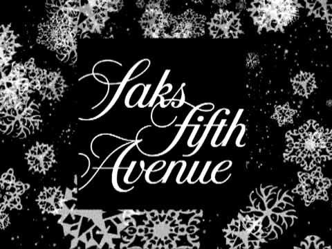 Saks Fifth Avenue High-Tech Holiday Display