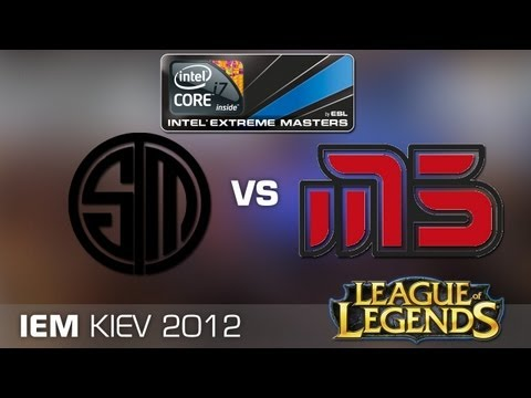 IEM Kiev LoL Grand Final: Team SoloMid vs. Moscow Five