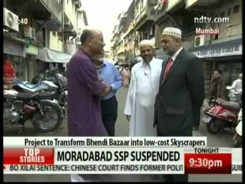 mumbai  bhindi bazaar walk and talk program ndtv 24/7 hd video