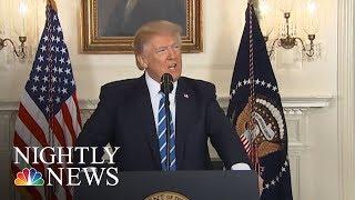 President Donald Trump Still Mum On Roy Moore | NBC Nightly News - NBCNEWS