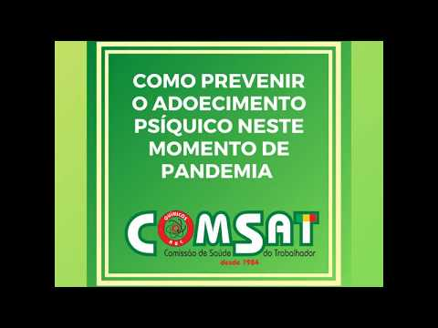 COMSAT nº 01 Distanciamento social e home office