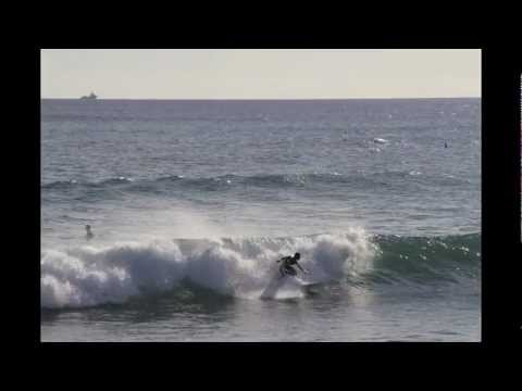 Canon 7D 8 fps Burst Shot Test - Surf @ Kewalo Basin 10/19/11