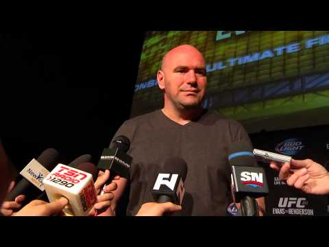 UFC 161: Dana White Pre-Fight Media Scrum
