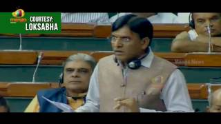 MP Kavitha Turns To Laughter Over Mansukh L Mandaviya Comments | Lok Sabha | Mango News - MANGONEWS