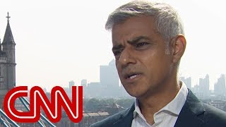 London Mayor Sadiq Khan responds to Trump - CNN