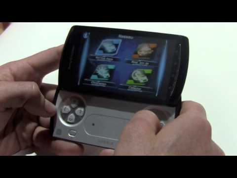 Sony Ericsson Xperia Play (Playstation Phone) Hands-On