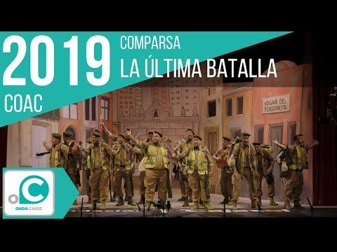 La agrupación La última batalla llega al COAC 2019 en la modalidad de Comparsas. Primera actuación de la agrupación para esta modalidad.