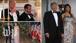 The French state dinner, in less than 2 minutes - WASHINGTONPOST