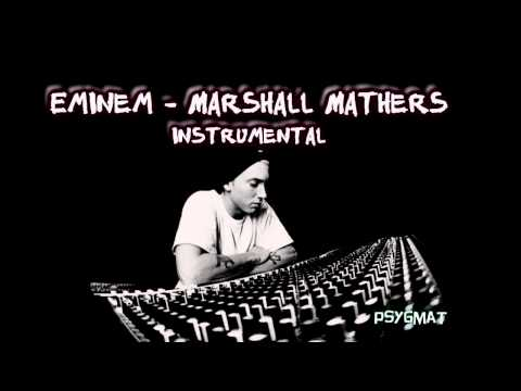 Eminem - Marshall Mathers instrumental /HQ sound/