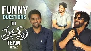 Premam Team Interacts With Media | Media Asks Funny Questions | TFPC - TFPC