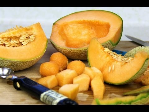 How To Peel, Core, Cube & Ball Melons.