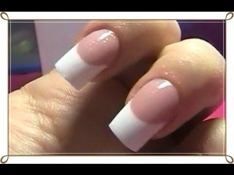 Cómo hacer una sonrisa perfecta en uñas acrílicas - Dual Sytem Forms