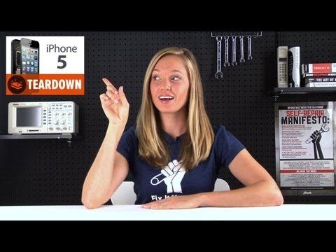 Jeden z filmików zamieszczonych na oficjalnym kanale iFixit na YouTube. Przedstawicielka firmy objaśnia widzom, jak można pomajsterkować przy 5 generacji iPhone'a