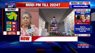 Ambika Soni On Congress' Tough Fight With BJP | Gujarat Assembly Elections 2017 - TIMESNOWONLINE