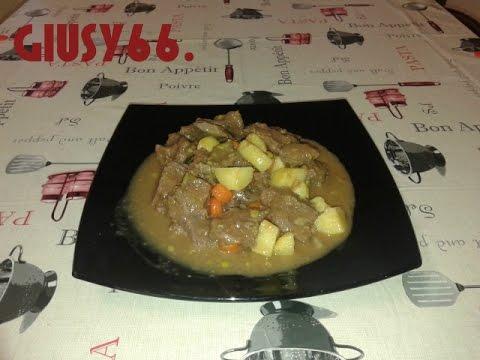 Spezzatino di manzo con patate Bimby TM5