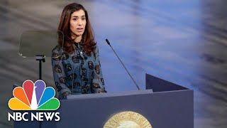 Nobel Peace Prize Laureate Calls On World To Protect Women From Sexual Violence | NBC News - NBCNEWS