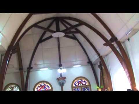 Misa Minggu pagi dibiara Karmel Bajawa Flores