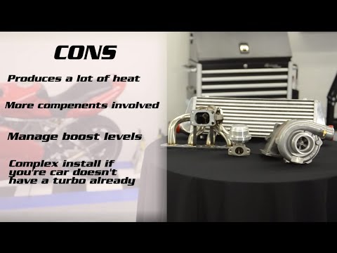 Superchargers vs Turbo Kits: Which to Choose? - Presented by Andy's Auto Sport