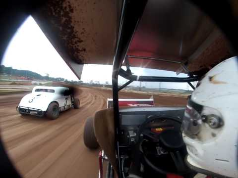 vintage sprint car susquehanna speedway test tune 2013