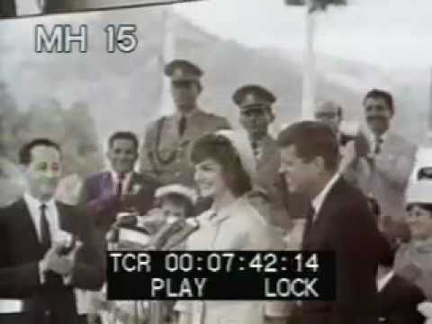 John F. Kennedy - U.S. President -  Archival Footage - Best Shot Footage - Stock Footage