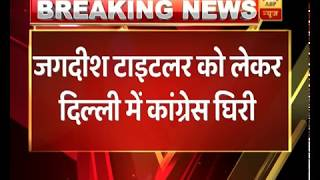 1984 anti-Sikh riot accused Jagdish Tytler attends Sheila Dikshit's swearing-in ceremony - ABPNEWSTV