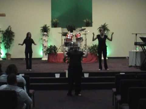 "AMPED drama team ""Lord You're Holy"" by Karen Wheaton"