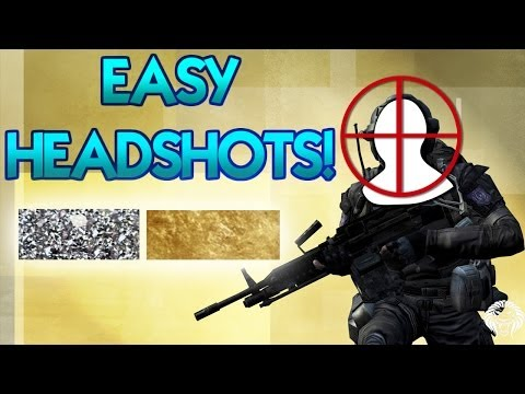 How To Get Easy Quick Headshots and Diamond & Gold Gun Camos Fast in Black Ops 2 - Tips and Tricks!