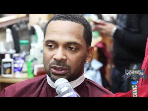 Mike Epps interview Barber World TV at LEVELS Barbershop Kamal Nuru AKA Zoe Mega Millions