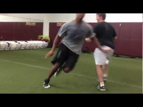 Chicago Bears Speed Training at TCBOOST