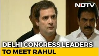 Congress CWC Meet Today To Give Final Shape To Election Manifesto - NDTV