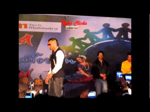 Honey Singh Performing live at Tech Mahindra Noida