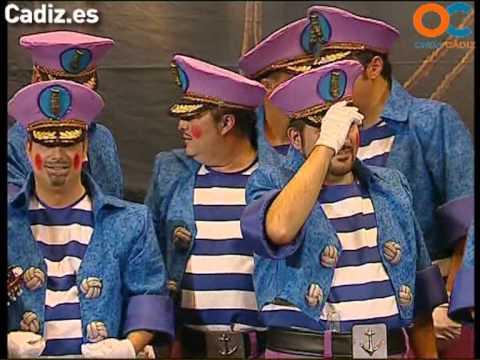 Sesión de Preliminares, la agrupación La cañonera actúa hoy en la modalidad de Coros.