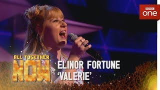 Elinor Fortune performs 'Valerie' by The Zutons/Mark Ronson feat. Amy Winehouse - All Together Now - BBC