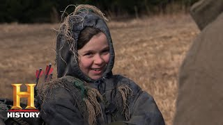Mountain Men: Jason Prepares River for a Hunt (Season 7, Episode 9) | History - HISTORYCHANNEL