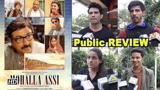 Mohalla Assi Public Review | Sunny teaches Sanskrit - IANSLIVE