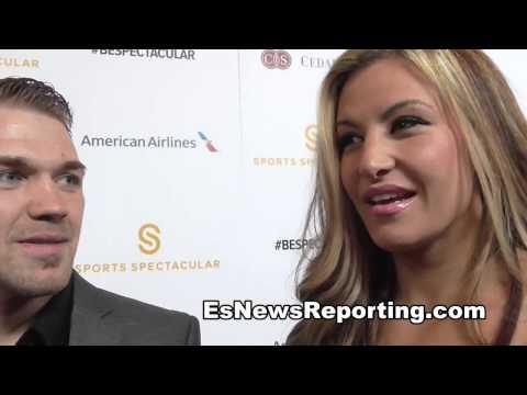 Bryan Caraway and Miesha Tate talk Rousey vs Mayweather EsNews