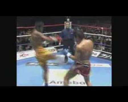 K-1 MAX 2007 Masato vs Buakaw!! (English Commentary)