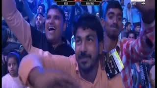 PWL 3 Day 13: Vinod Omprakash VS Parveen Rana at  Pro Wrestling League season 3 |Highlights - NEWSXLIVE
