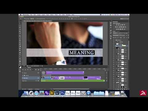 Photoshop CS6 - Editing Video