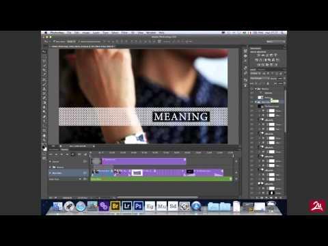 Photoshop CS6 - Editing Video