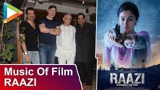 Shankar–Ehsaan–Loy Talk About Music Of Film Raazi - HUNGAMA