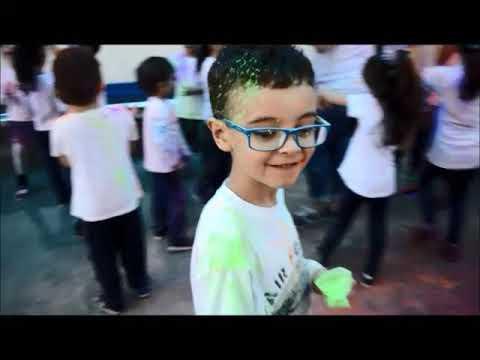 Zumba Infantil com Festival das Cores - Holi Festival