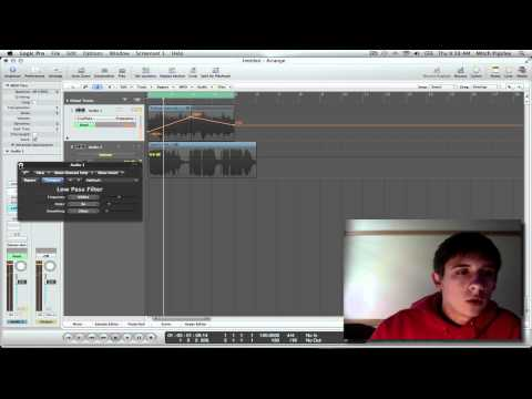 Logic Pro 9 - Tips &amp; Tricks #2 (Filter Automation)