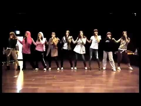 110325 SNSD Dance Practice-My Best Friend Official [HD]