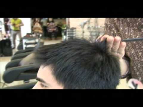 HAIR-SHAMPOOING & HAIRCUT FOR A GUY (SWITCHSCISSORS)